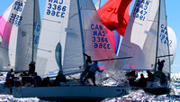 J24 - North Americans 2016 Race 1 - Set & Rounding