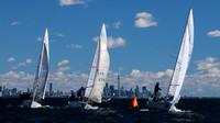 J24 - North Americans 2016 Race 1 - Upwind & Rounding