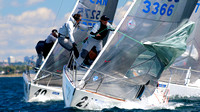 J24 - North Americans 2016 Race 1 - Close to the Mark - part 2
